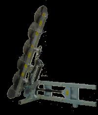 Prepodadora Articulada de Discos Acoplada a la Pala PF-606 P